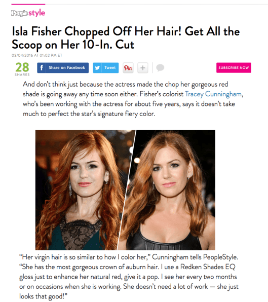 PEOPLE STYLE WATCH featuring Isla Fischer & Tracey Cunningham!