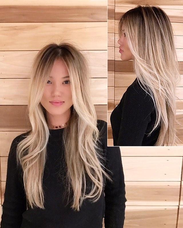 Meche Salon Beverley Hills Lizzy Jung Asians can be blonde